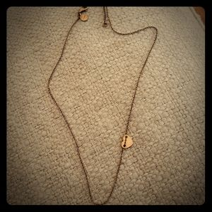 Stella and Dot heart necklace